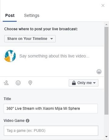 How To Live Stream with Xiaomi Mijia Mi Sphere | Yaiol